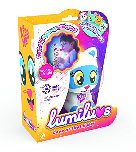 TIgerHead Toys- Gato Mascotas Electrónicas con Luz y Sonidos, Color Azul (LB0001A5)