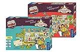 Franckh-Kosmos Verlag Die Schule der magischen Tiere - Set: Fürchterlich feierlich! (Story Puzzle) + Endlich ausgegeistert! (Story Puzzle)