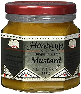 Honeycup Mustard - 8 Ounces (Pack of 3)