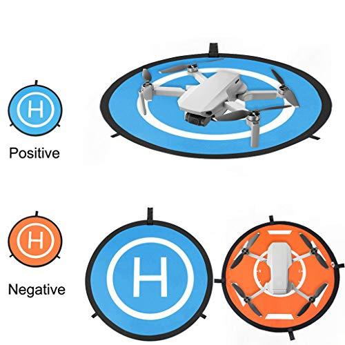 CUEYU Faltbare Landing Pad für DJI Mavic Mini Drone - 75CM Drone Landing Pad für DJI Mavic 2 Zoom/DJI Mavic 2 Pro/DJI Mavic Air/Mavic/Mavic PRO/DJI Spark