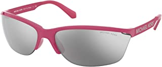 Michael Kors MK2110 Pink Playa Rectangle Sunglasses Lens Category 3 Size 71mm