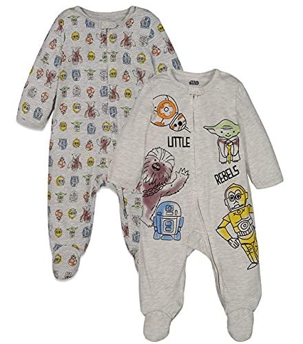 Star Wars Baby Boys 2 Pack Sleep N' Play...