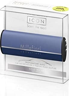 MILLEFIORI Collections PROFUMATORE Auto Icon Cold Water Edizione Limitata Novita' 2018/2019