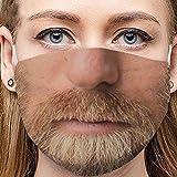 Sannysis Lustige Mundschutz Waschbar Baumwolle mit Motiv Bandana Multifunktionstuch für Herren Damen Mund und Nasenschutz Staubdicht Halstuch (F2)