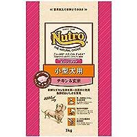 ニュートロジャパン ナチュラルチョイス [小型犬用] 7歳以上エイジングケア チキン&玄米 1kg