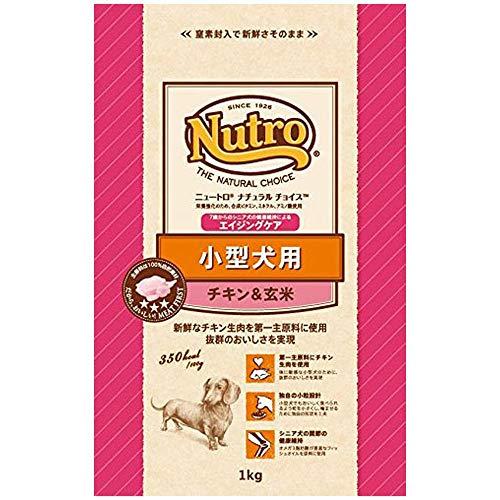 マース ニュートロ『ナチュラルチョイス 小型犬用 エイジングケア チキン&玄米』