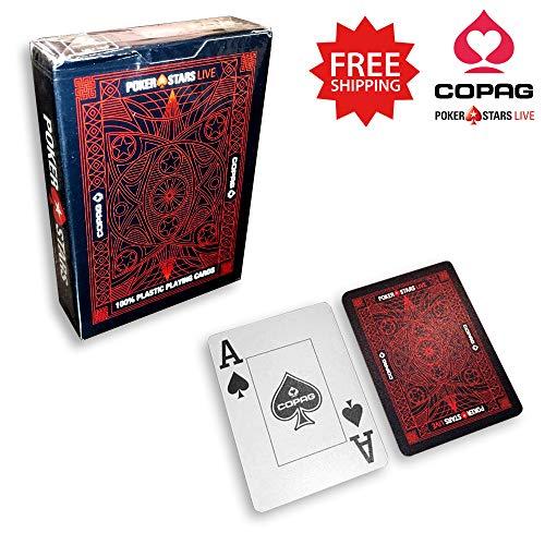 Texas Hold/'Em Pro Playing Cards Display Carte da Gioco Gioco d Juego Ju90033