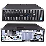 Windows 10 HP 800 G1 SFF Intel Core i5-4570 Desktop PC Computer - 16GB DDR3-128GB SSD & 1TB HDD - 300Mbps Wi-Fi (Renewed)