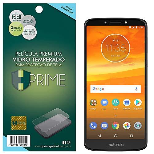 Pelicula de Vidro temperado 9h HPrime para Motorola Moto E5 Plus, Hprime, Película Protetora de Tela para Celular, Transparente