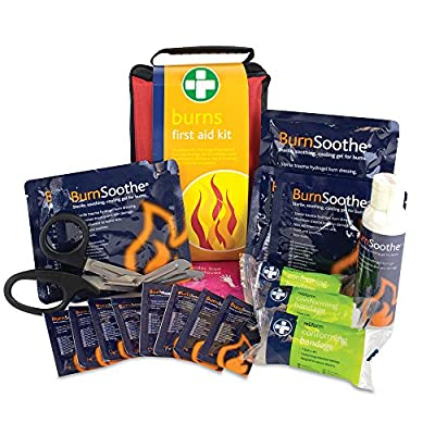 Reliance REL142 Burns First Aid Kit, Stockholm Bag by Reliance Medical