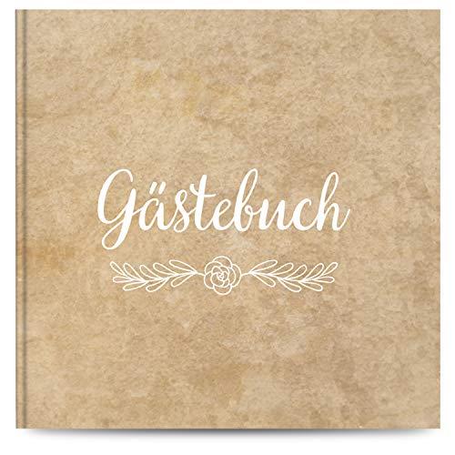 Fairytale Wedding © Gästebuch Hochzeit mit 100 Seiten u. hochwertigem Hardcover - Blanko...