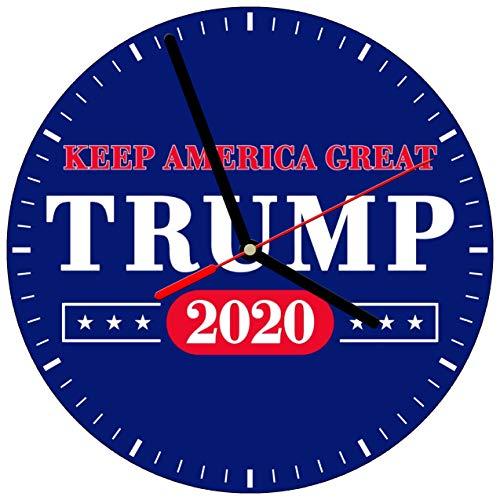 Reloj de pared, el presidente Donald Trump # GOP Republican Voto político USA America Election Conservative Keep America Great