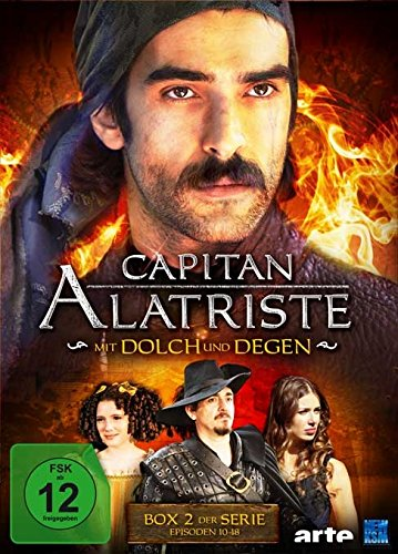 Capitan Alatriste - Mit Dolch und Degen - Box 2 (Folge 10-18) [3 DVDs] [Alemania]