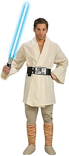 Deluxe Luke Skywalker 'Star Wars' Costume pour homme Taille STD, XL