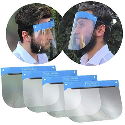 Visier Gesichtsschutz Schutz Gesicht Schutzschild Gesichtsschutzschild Gesichtsvisier Augenschutz Augen Spritzschutz vor Flüssigkeit Face Shield Schirm Spuckschutz