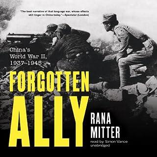 Forgotten Ally audiobook cover art
