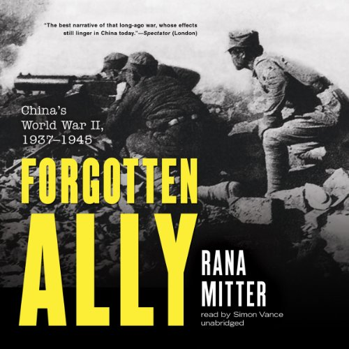 Forgotten Ally audiobook cover art