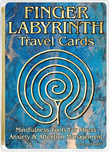 Finger Labyrinth Travel Cards-10 Pack