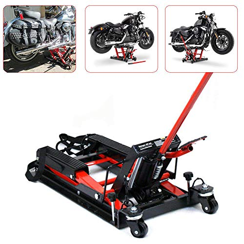 pequeño y compacto Elevador hidráulico para motocicleta OUKANING soporte para motocicleta