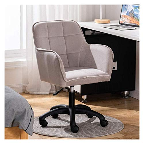 Office Chair, Desk Chairs Office Swivel Executive Computer office chairs Removable Dining/Office home office desk chairs with Wheels and Lift - Makeup chairs Velvet Exterior Modern Home Office Furnitu