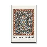 Vintage frutas y flores William Morris carteles e impresiones pintura pared...