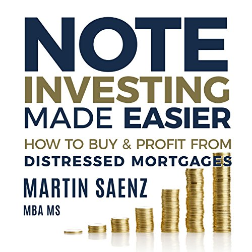 Note Investing Made Easier audiobook cover art