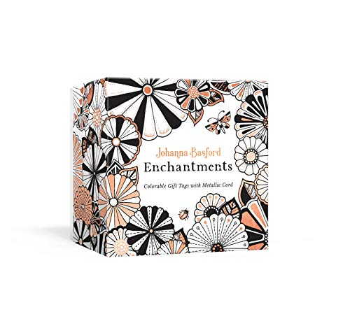 Enchantments: Colorable Gift Tags with Metallic Cord