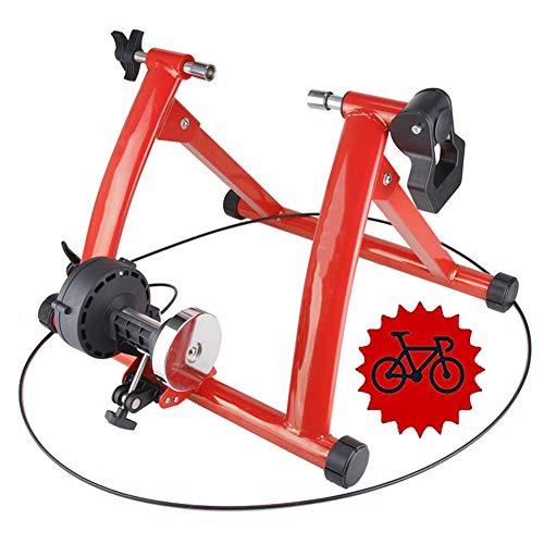 TANCEQI Rodillo Entrenamiento Bicicleta con Control De La Línea De Plataforma De...