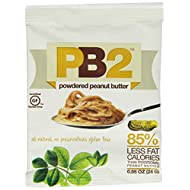Bell Plantation PB2 Powdered Peanut Butter, 0.85 ounces(Pack of 12)