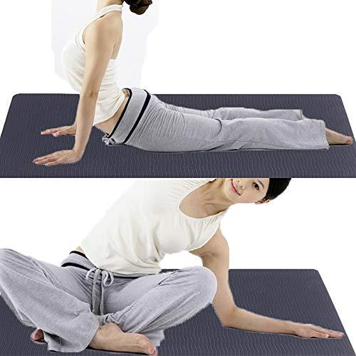 Yoga MatFitness Mat für die Ausbildung Yoga Knie Pad Kussen Weichschaum Yoga Knie Mat Ondersteuning Gym Fitness Oefening Bescherming Yoga Mithelfer Gymnastikmatte für Gym
