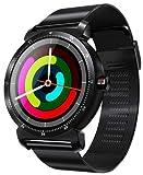 Garett GT20S Stahl Smartwatch, Schwarz