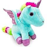 Heionia Unicornio Peluche Muñeco 9IN Super Lindo Unicornios Juguete para Niñas Muñeco...