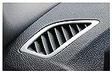 ZHANGHUA Tablero de Coches Dashboard Aire Acondicionado Salidas Marco Cubiertas Decorativas Pegatinas Ajuste para BMW 1 Serie F20 Auto Accesorios (Color Name : Carbon Fiber)