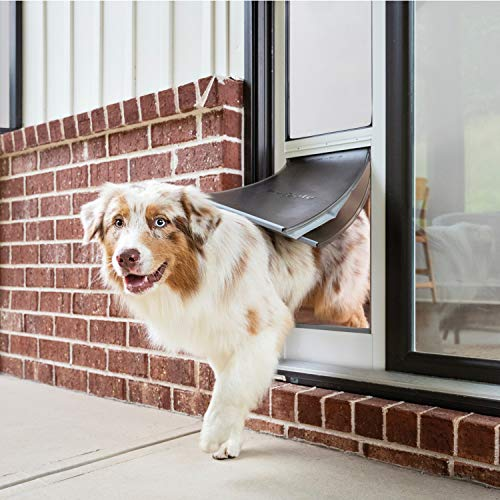 PetSafe Extreme Weather Sliding Glass Pet Door, Easy to Install, Perfect for Rental Homes and Apartments, Insert for Patio Sliding Glass Doors, Large Size