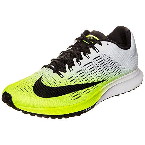 Nike Air Zoom Elite 9 Mens Running Shoes (12.5, Volt/Black-White)