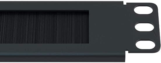 1U Brush Panel Horizontal Grommet Strip Server Rack Cable Management Panel by CableRack
