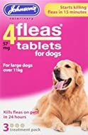 Johnsons Veterinary Products 19-0295 Tablets for Dogs Treatment, Large, Pack of 3