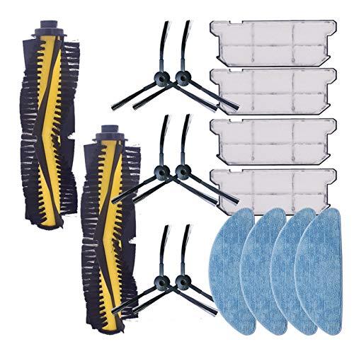 ZRNG Robótico Aspirador SPARTS Piezas Kits Kits Rodillo Rodillo PEADRO PEQUEÑO Pelo Filtro Filtro Filtro HEPA Ajuste para ILIFE V7S Pro V7S V7S Plus V7 La instalación es Simple y fácil de Usar.