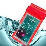 TexoVera by ShopeeQ Three Layers Waterproof Sealed Transparent Mobile Bag Cover for Protection