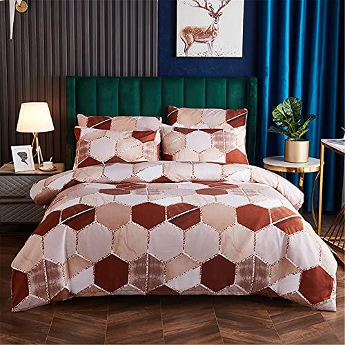Ropa De Cama Textiles para El Hogar Color Degradado Patrón De Mármol Patrón Funda Nórdica Funda De Almohada Suave Cómoda Y Fácil De Limpiar 210x210cm