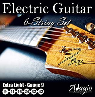 Adagio Professional Electric Guitar String Set 9-42
