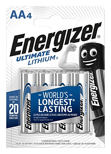 Energizer Batterien AA, Ultimate Lithium, 4 Stück