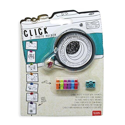 Legami Click Portafoto Camera, Multicolore, 120x0.1x0.1 cm