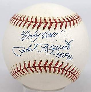 "Phil Rizzuto Single Signed Baseball""9 (2000 WS Ball, Holy Cow, HOF 94)"" JSA LOA (card)"