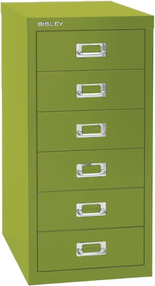 Spasm price Max 54% OFF Bisley 6 Drawer Steel Under-Desk Multidrawer Cabinet Gr Storage