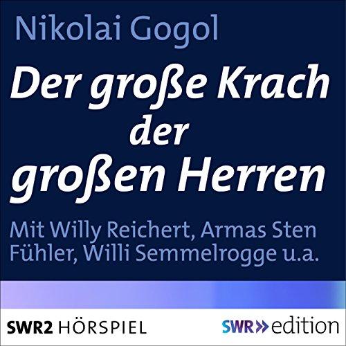 Der große Krach der großen Herren audiobook cover art