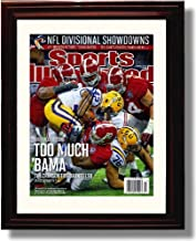 Framed Alabama Football Sports Illustrated 2011