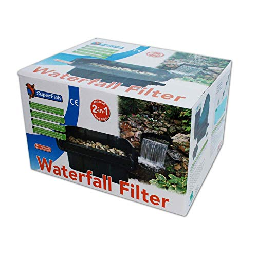 Superfish Wasserfall-Filter, 2in1-Teichfilter für den Gartenteich - 5