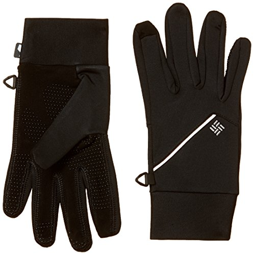 Columbia Trail Summit Running Guantes, Hombre, Negro, S