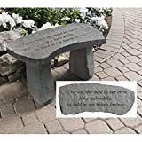 Design Toscano In Our Hearts Forever Cast Stone Memorial Garden Bench